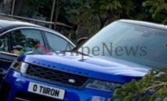 """NDODH NË TIRANË/ Kur """"Range Rover-i"""" mban targën: O Tiiron!"""