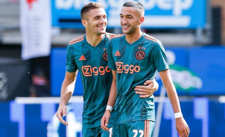 SHKËLQEJNË KAMPIONËT HOLANDEZ/ Ajax fiton me goleadë dhe kap përkohësisht kreun