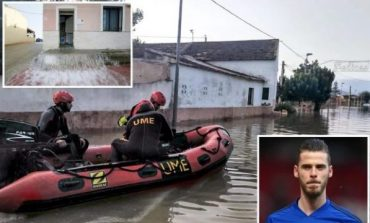 GJESTI HUMAN/ De Gea i dhuron 200 mijë euro për viktimat e vërshimeve në Spanjë
