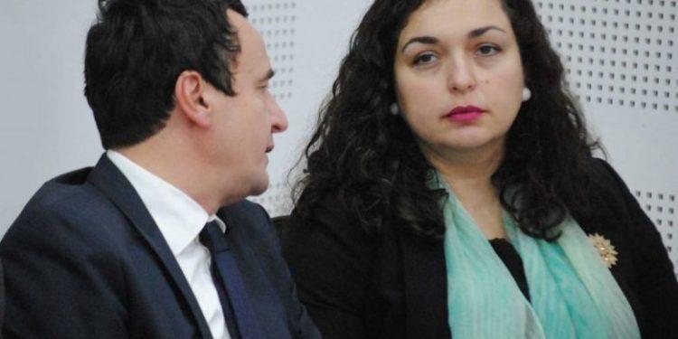 I VENDOSUR/ Albin Kurti: Unë kryeministër, Vjosa Osmani kryeparlamentare