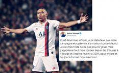 """""""DO TA MBËSHTES EKIPIN NGA...""""/ Mbappe i zhgënjyer që s'do të luajë kundër Real Madridit, ja çfarë shkruan..."""