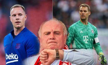 """KËRCËNON TRAJNERIN E GJERMANISË/ Presidenti i Bayern i hedh """"benzinë zjarrit"""": Nëse zgjedh Ter Stegen..."""