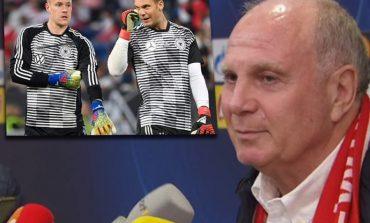 SHERRI TER STEGEN-NEUER/ Reagon Presidenti i Bayern: Iu tregoj portierin më të mirë në botë
