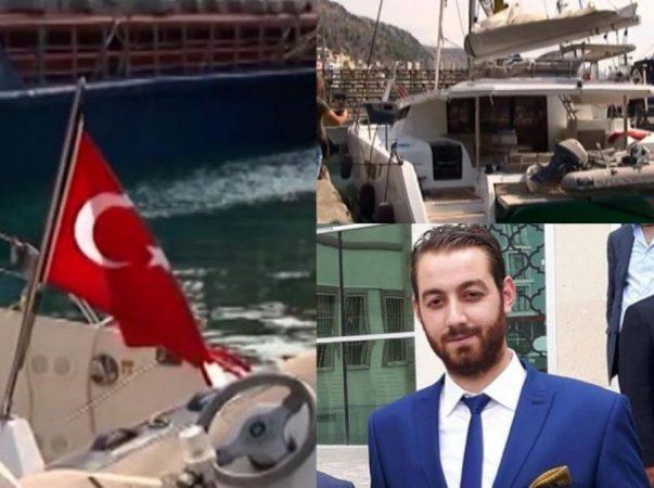 """""""MË THA JAM AFËR DURRËSIT POR…""""/ Biznesmeni turk tregon telefonatën e fundit me kapitenin, përplaset me…"""