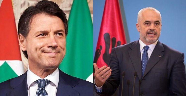 TËRMETI/ Kryeministri italian Conte TELEFONON Ramën: Gati t'ju ndihmojmë