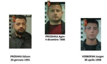 """""""BOLI"""", """"IDLI"""" DHE """"ROCKY""""/ Nofkat e kapove të 2 grupeve MAFIOZE SHQIPTARE të goditura në Itali (EMRAT)"""