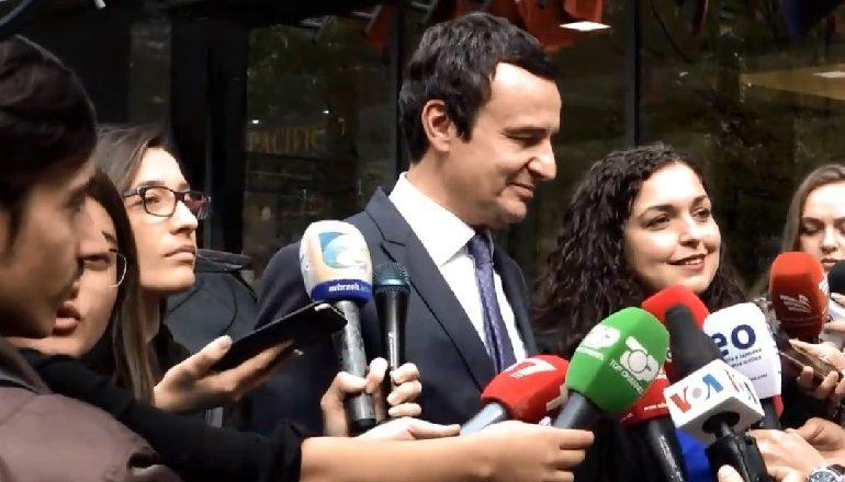 """""""ERDHI DITA""""/ Po afrohet marrëveshja për qeverinë e re në Kosovë, Osmani: Jemi bashkë me Kurtin"""