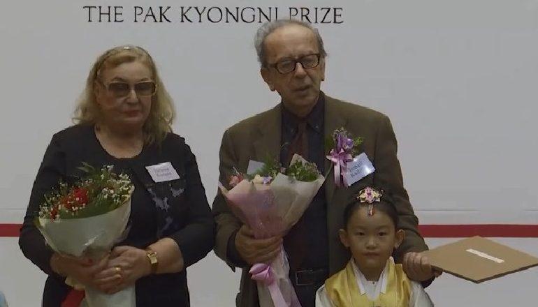 CEREMONIA NË KORENË E JUGUT/ Kadare nderohet me Çmimin Pak Kyongni 2019: Regjimi në Shqipëri, si ferri i Dantes