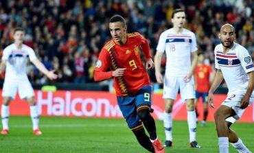 LIVE/ Po luhet ndeshja Norvegji-Spanjë, mbyllet pjesa e parë. Rezultati 0-0