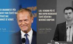 KUSH I KA FAJET PËR VENDIMIN E KE? Rama publikon deklaratën e Donald Tusk dhe të Bashës: Pa koment!