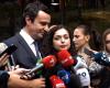 """""""KANDIDATURA E SAJ FRYMËZOI…""""/ Çfarë mendon Albin Kurti për Vjosa Osmanin"""