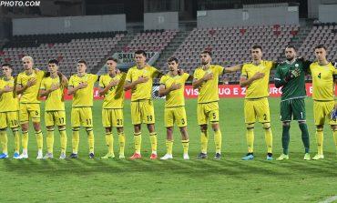 MOMENT EMOCIONUES/ Ja cilët lojtarë të Kosovës U-21 kënduan me zë himnin e Shqipërisë (VIDEO)