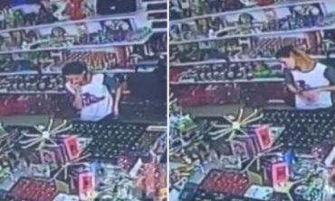 """""""UNAZA, ORA, VARËSE...""""/ Vajza shqiptare vjedh bizhuteri """"qetësisht"""" në qendrën tregtare, dalin pamjet e grabitjes (VIDEO)"""