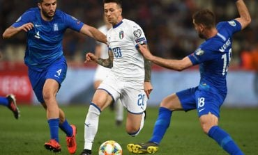LIVE/ Po luhet ndeshja Itali-Greqi, mbyllet pjesa e parë. Rezultati 0-0