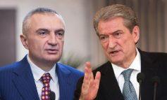 """NJË DITË MË PARË ISHIN NË KAFE/ """"Ustallarët"""" Ilir Meta e Sali Berisha takohen sot dhe në Presidencë për t'i dhënë """"drejtim"""" krizës"""