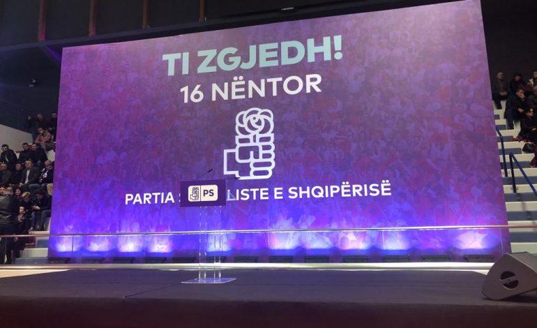 """""""TI ZGJEDH""""/ Partia socialiste zhvillon takimin për zgjedhjet e delegatëve të 16 nëntorit në Tiranë (LIVE)"""
