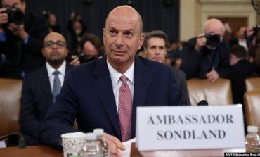 DËSHMIA NË KONGRES/ Ambasadori amerikan në BE: Giuliani i vendosi parakushte Ukrainës