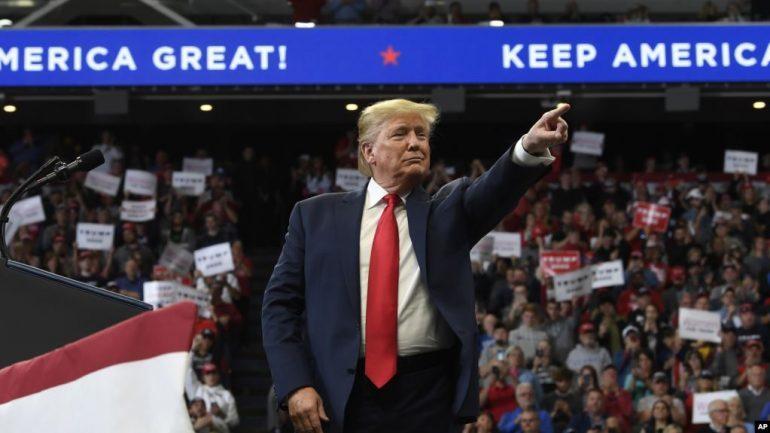 SI SOT 3 VITE MË PARË/ Donald Trump u bë presidenti i Amerikës