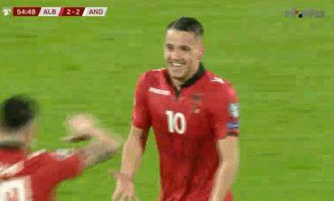 """SHQIPËRI-ANDORRË/ Zgjohen """"kuqezinjtë"""", Manaj vendos baraspeshën në """"Elbasan Arena"""" (VIDEO)"""