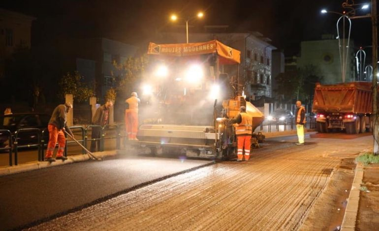 ASFALTOHET RRUGA E ELBASANIT/ Veliaj: Pas mega-kolektorit nëntokësor, edhe një rrugë fringo e re