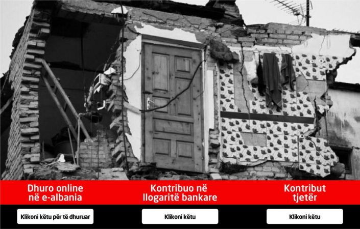 SOLIDARIZIMI/ Ndihmat për të prekurit nga tërmeti përmes platformës e-Albania, ja si mund të dhuroni para