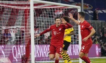 """TRIUMFOJNË ME """"PORKER"""" NË KLASIKE/ Kampionët e Gjermanisë """"shkatërrojnë"""" Dortmundin, Levandovski hyn në histori"""