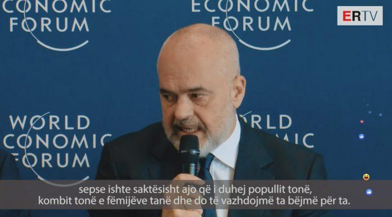 MESAZH TË QARTË MACRONIT NGA GJENEVA/ Rama: BE ka nevojë për Ballkanin, kush nuk e kupton këtë …