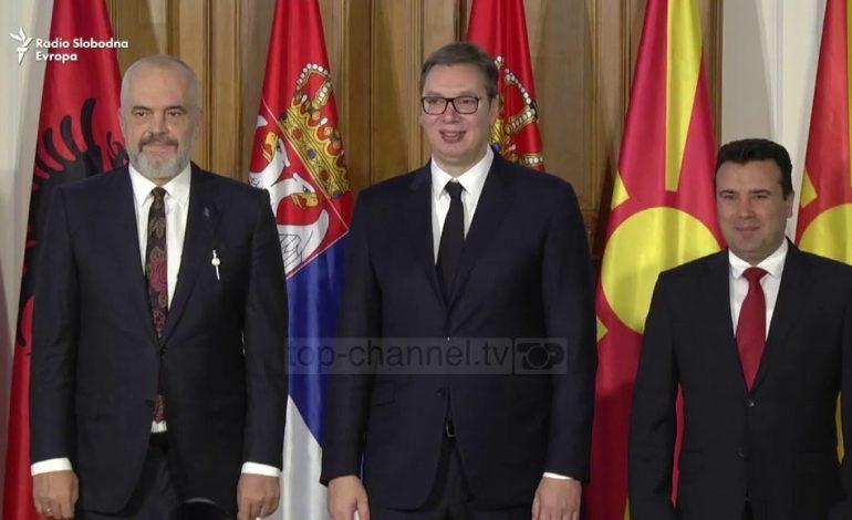 BALLKANI PERËNDIMOR/ Liderët Zaev, Rama dhe Vuçiç takim këtë të diel në Ohër