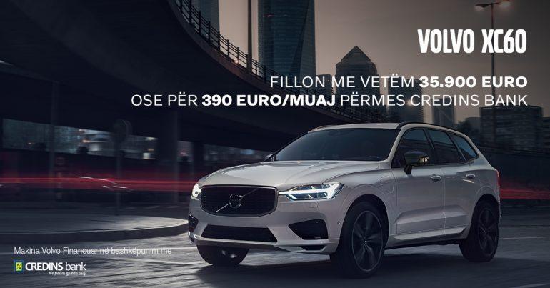 TANI CILËSIA BLIHET MË THJESHTË/ Gjiganti i automjeteve Volvo nga Mektrin Motors bashkëpunon me Credins Bank