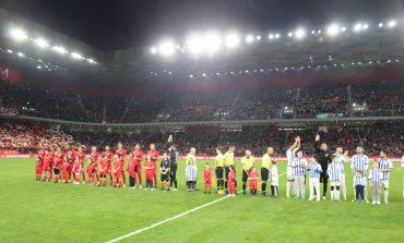 "LIVE/ Mbyllet derbi Partizani-Tirana në ""Air Albania"". Rezultati 1-2"