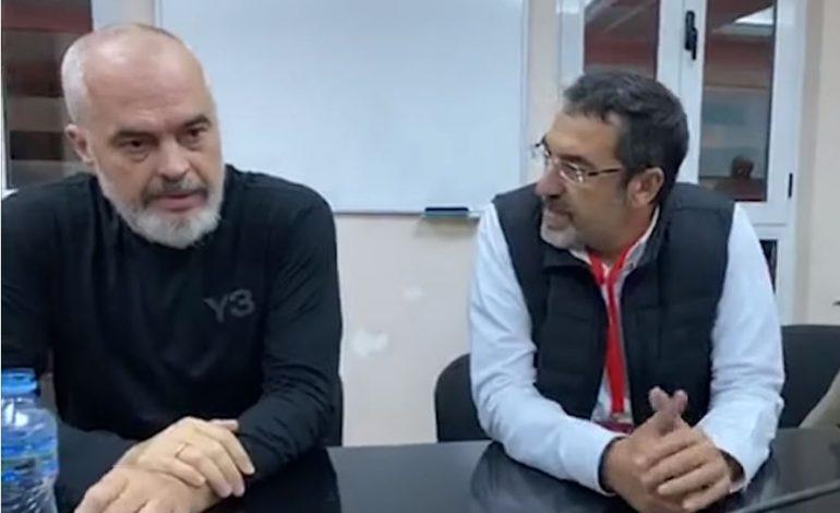 MOMENT PIKANT NGA MBLEDHJA/ Rama ndërpret Çuçin : Mi fik içik ato TV, se si shoh dot me sy (VIDEO)