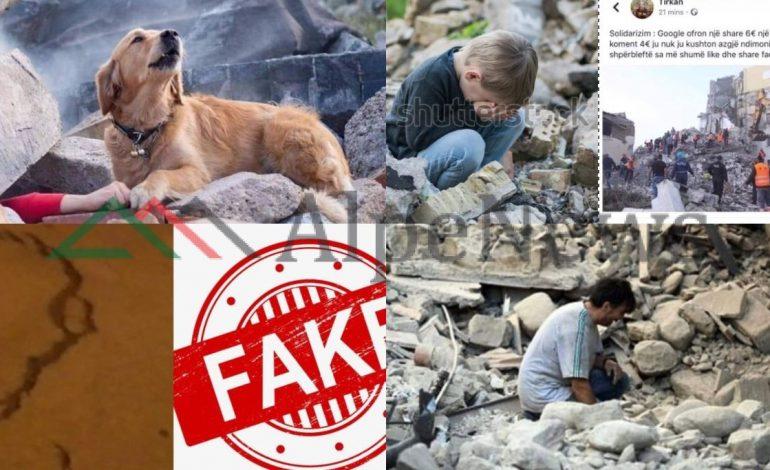 """POST-TËRMETI/ """"Fake News"""" dashakeqe që tentuan të krijonin PANIK në ditët e vështira të Shqipërisë dhe FOTOT që ngatërruan rrjetin"""