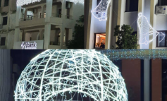 DEKOR DHE ATMOSFERË/ Lezha ndez dritat e qytetit me rastin e festave të fund vitit