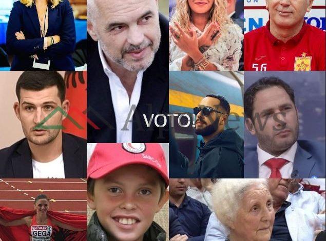PERSONAZHI I VITIT 2019/ ALPENews.al zgjedh 10, votoni!