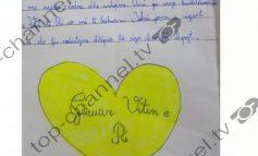 """""""DO IU NDIHMOJ ME LODRA, USHQIME DHE...""""/  Letra e 8-vjeçares për të prekurit nga tërmeti (FOTO)"""