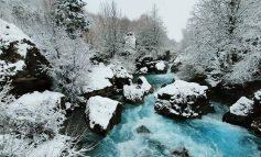 """MAGJIA E VALBONËS/ E bukur, """"joshëse"""" dhe e mbuluar nga rreshjet e dëborës"""