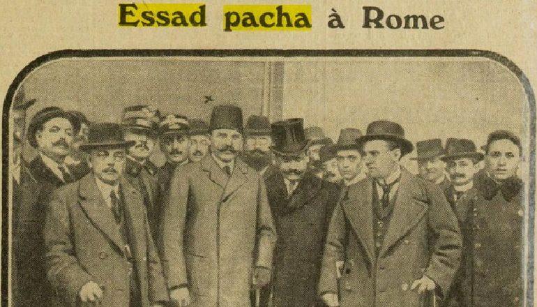 ITALIA (1914)/ Shkëmbimet midis Mbretëreshës së Italisë dhe Esat Pashë Toptanit në ballon e oborrit mbretëror italian