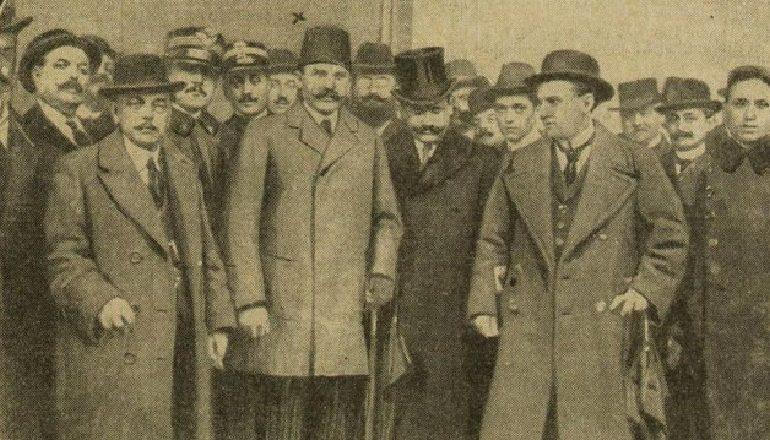 LE RADICAL (1914)/ Esat Pasha, bashkë me delegacionin shqiptar, tek Princ Vidi në Neuwied (Fjalimet mes palëve)