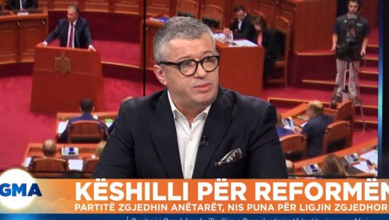 """""""NDRYSHIMI I SISTEMIT ZGJEDHOR""""/ Alfred Peza: PS-ja, e hapur. Pjesë e procesit të dialogut"""