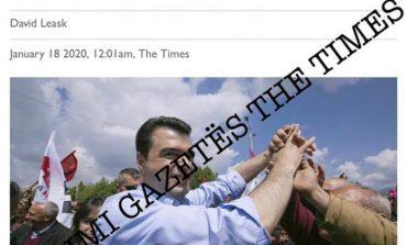 """""""THE TIMES"""" """"FUNDOS"""" KRYEDEMOKRATIN/ Zbërthen skemën financimit të Lulzim Bashës nga kompania fantazëm (E PLOTË)"""