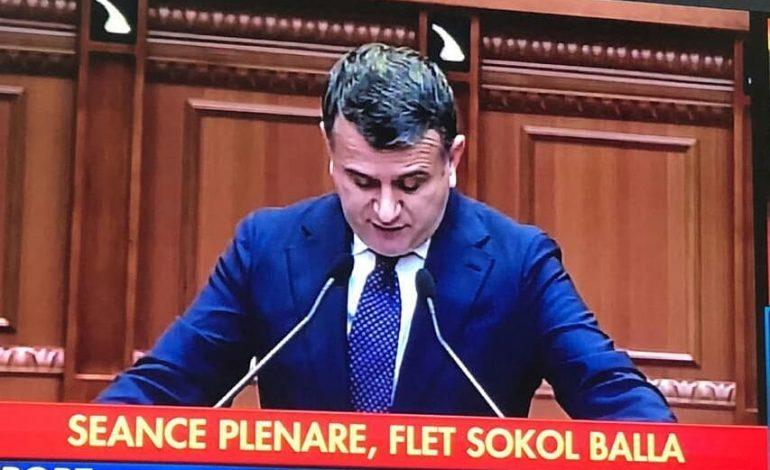 Kur Sokol Balla bëhet… deputet!