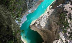 UJI I KRISTALTË DHE BUKURIA E ERZENIT/ Kanioni që pret dashamirësit e natyrës për ta vizituar