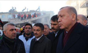 TURQI/ Erdogan: Kemi përjetuar shumë tërmete. Por ky popull ka ditur t'i kalojë me durim