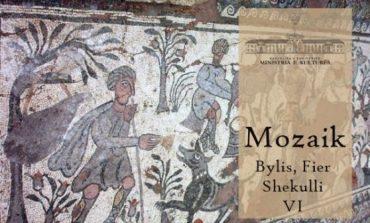 NË QYTETIN ANTIK TË BYLISIT/ Zbulohet mozaiku i shekullit IV, një nga veprat më të mëdha të kohës