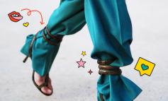 TREND I RI/ Si ju duken pantallonat nëse i vishni kështu?