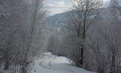 I VESHUR ME VELLON E BARDHË/ Shishtaveci një mrekulli natyrore edhe në dimër