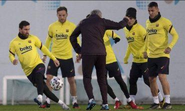 """NJË LUFTËTAR ME FAT PËR SETIENIN/ Rei Manaj shqiptari i parë që pushton """"Camp Nou""""-n"""
