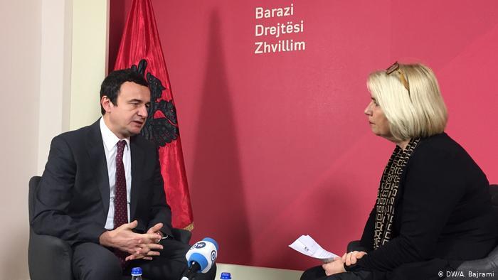 INTERVISTA ME KRYEMINISTRIN E KOSOVËS/ Albin Kurti: Nuk mund të ketë ndryshim të kufijve të vendit