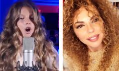 TALENT I LINDUR/ Vajza e Inis Gjonit i mahnit të gjithë me zërin e saj (VIDEO)
