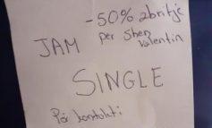 FOTOLAJM/ Për Shën Valentin, ata që janë SINGLE i merrni me...50%